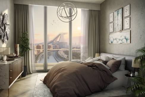 Riviera_1BHK_Bedroom 3